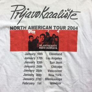Vintage Shirts - Prljavo Kazaliste Radio Dubrava 2004 America Tour